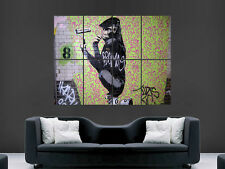 BANKSY GRAFFITI STREET ART KING KONG GIANT POSTER ART PRINT LARGE