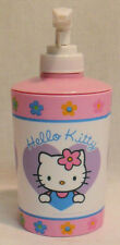 HELLO KITTY LOTION BOTTLE PINK PLASTIC BRAND NEW