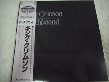 KING CRIMSON-Earthbound JAPAN 1st.Press w/OBI Genesis Pink Floyd Yes EL&P Asia