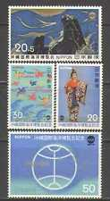 Japan 1975 Ocean/Birds/Art/Dancer/Fish 4v set (n24446)