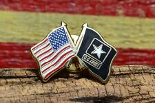 United States Army Crossed Flag Tie, Hat, Lapel Pin - Flags - Old Glory US