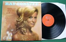 Ray Conniff Orch & Chorus Hello Young Lovers inc Impossible Dream + CHM 689 LP