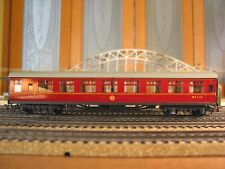 HORNBY-DUBLO 7-CAR HO OO BR LMR BRITISH RAILWAYS MAROON COACH SET