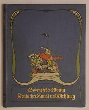 Bodenstedts Album deutscher Kunst und Dichtung - 1904, illustrierte Ausgabe -ALT