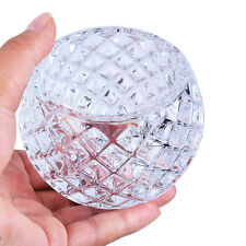 LS Clear Crystal Votive Candle Holder Fishnet Tealight Holders Venue Decorations