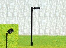 S204 - 10 Stück Straßenlampen mit LED 1-flammig 5,5cm Set Lampen für Bahnsteig