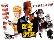 "Carry on Spying 1964 16"" x 12"" Reproduction Movie Poster Photograph"