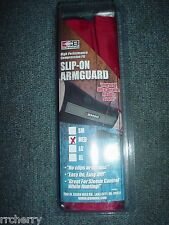 @NEW@ BOHNING RED SLIP-ON ARMGUARD! Large, archery bow hunting arm guard