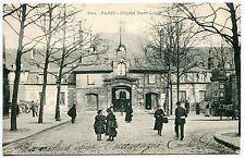 CARTE POSTALE  PARIS HOPITAL SAINT LOUIS