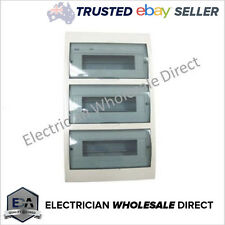 Switchboard 36 Way Pole FLUSH / Recessed Mount Distribution Board Electrical