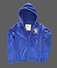 Hollister bleu sweat à capuche femme zippé à capuche taille moyenne 10