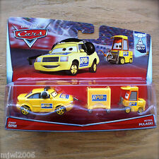 Disney PIXAR Cars CHIEF RPM & PETROL PULASKI 2-PK diecast PISTON CUP 5&6/18 2015
