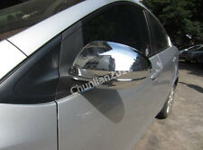 Chrome Side Mirror Mirrors Cover Trim for 2010-2012 MAZDA 3 MAZDA 6 ABS (2pcs)