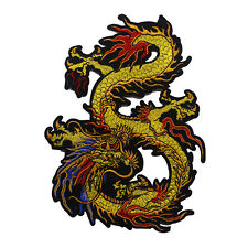 Dragon Clothes Patches Embroidery Decoration Lace Fabric Motifs Applique Sew On