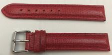 LUXUS & high quality 0 11/16in REPTILE LIZARD LEATHER WATCHES BRACELET NEW ROT