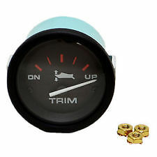 MERCURY POWER TRIM GAUGE QUICKSILVER OUTBOARD INBOARD MARINER MERCRUISER
