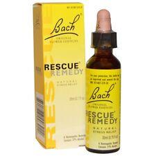 Bach, Original Flower Essences, Rescue Remedy, Natural Stress Relief, 0.7 fl oz
