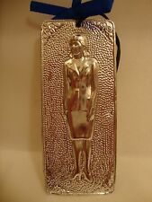 "Tama Ex Voto "" Woman "" Greek Russian Orthodox Icon Embossed Metal Plaque"