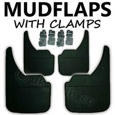 4 X NEW QUALITY RUBBER MUDFLAPS TO FIT  Opel Omega B UNIVERSAL FIT