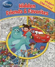 DISNEY FRIENDS & FAVORITES Hidden Look and Find NEW Spot BRAIN TEASERS Puzzles