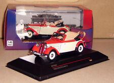 IFA F8 F 8 Cabriolet  IST Models  Rot/Beige  1:43  Detailgenau  Neu ohne Folie