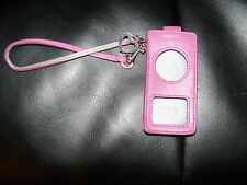 COACH Ipod Nano Pink Gorgeous Case EUC