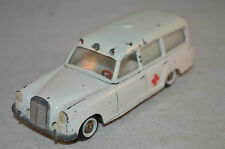 Tekno Denmark 731 Mercedes 220 S Ambulance all original condition