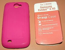 Body Glove Pink TPU soft slip on case for T-Mobile Samsung Exhibit II 4G