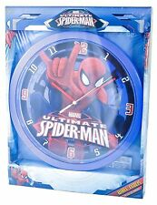 "Marvel ""Ultimative Spiderman"" Wanduhr Kinderuhr Kunststoff D-60412114689390"