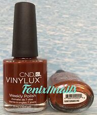 CND VINYLUX WEEKLY NAIL POLISH~Lasts 7+ days #161 BURNT ROMANCE *Shellac Color