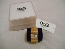 Montre Femme Dolce & Gabbana D&G Ladies Watch, Doré, Golden, Pile Neuf, Like new