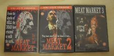 Meat Market 1-3 / Zombie Gore Collection / Limited Edition DVDs