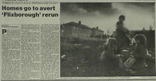 Grangetown North Estate Demolished ICI Wilton Plant 1990 Newspaper Article 6088