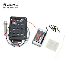 Professional JOYO JE-307 5 Band EQ Equalizer Acoustic Guitar Preamp Piezo Pickup