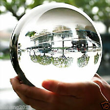 VERY BEAUTIFUL  ASIAN QUARTZ Clear Crystal Ball Sphere 100mm +stand
