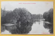 Carte postale ancienne BAYON - Vue prise du Pont sur la Moselle