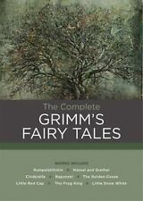 Complete Grimm's Fairy Tales New Hardcover Book