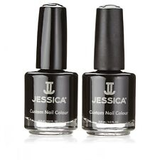 Brand New Jessica Black Beauties Duo Nail Polish Manicure Nail Art Gift Set