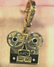 2008 JUICY COUTURE REEL TO REEL FILM PROJECTOR CHARM EUC