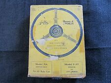 1937 Ford Steering Wheel Dress Up Kit Jiffy Beaut-E Spoke NOS Vintage Accessory