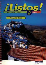 Listos! 2 Rojo-Teachers Guide Bell Traynor Heinemann Spiral bound 9780435429621