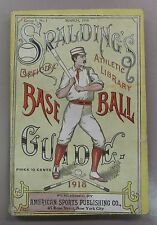 1918 Spalding's Official Baseball Guide