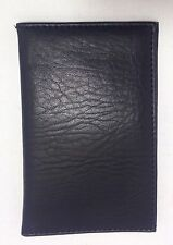 1 x New Black Leather  Passport Travel Cover Holder / Wallet (for any Passport)