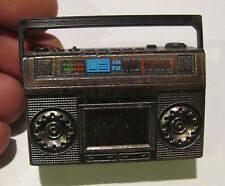 vintage Hong Kong pencil sharpener, boom box, rare