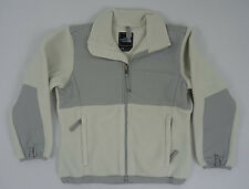 The North Face Girls YOUTH KIDS Denali Fleece Jacket Moonlight Ivory Grey Size M