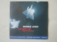CD ROM DASSAULT AVIATION SNECMA THALES MIRAGE 2000 THE BEST OF AIRPOWERMENT