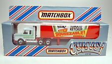 "Matchbox Convoy CY16A Scania Box Truck ""Heinz"" top in Box"