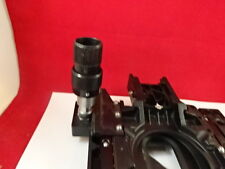 MICROSCOPE PART OLYMPUS JAPAN SPECIMEN STAGE TABLE MICROMETER AS IS B#61-A-01