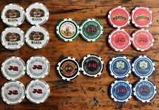 JR CIGAR COMPANY 20 Piece Poker Chip Set NEW! 13 Gram Casino Chips!