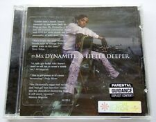 Ms. DYNAMITE - A LITTLE DEEPER - UK SPECIAL EDITION - CD
